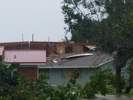 Hurricane Irma Damage Florida Palm Bay Tornado Destroys
