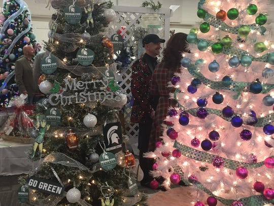 A past selection of displays from the annual Festival of Trees auction.