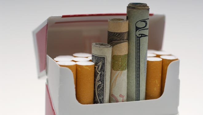 State lawmakers may have to decide whether to tap into the state's tobacco settlement fund money to balance the budget.