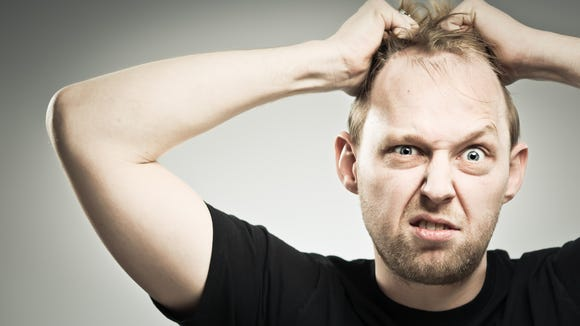 Ever feel like pulling your hair out? Many of us feel