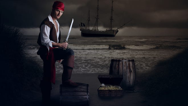 Set sail for a swashbuckling adventure at Discovery Center on Thursday.