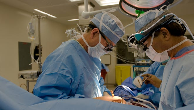 Screening colonoscopies are intended to catch colon cancer early.