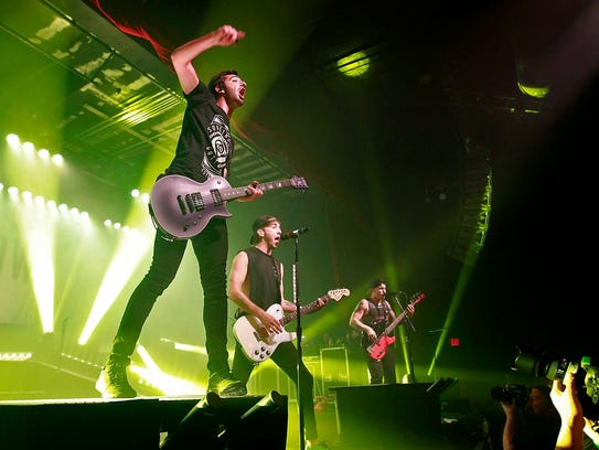 All Time Low will be one of many acts performing at
