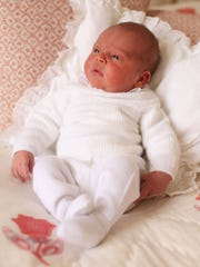 Prince Louis of Cambridge in a photograph taken by