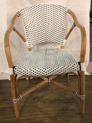 Darling and durable indoor/outdoor dining chairs bring