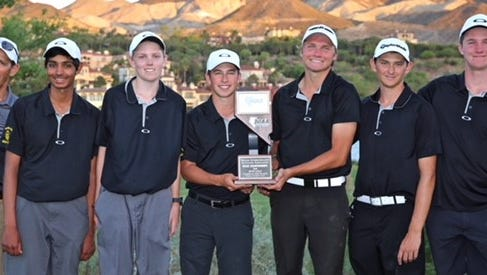 The Galena golf team won the Northern 4A Regional and was second at state.