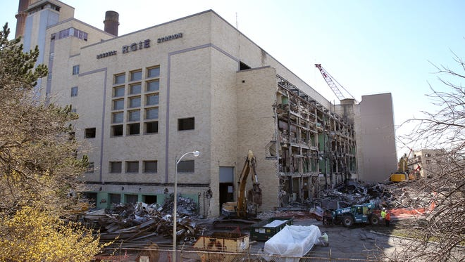 RGE's Russell Station is being demolished.  The company is also taking down BeeBee Station in the High Falls area.