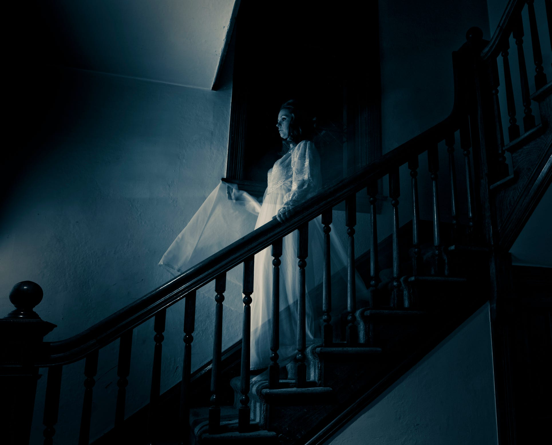 How many people believe in ghosts or spirits of the dead?