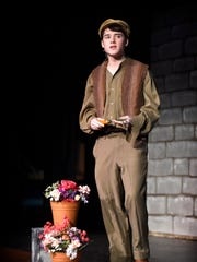 "Brennan Mulligan plays Ben Weatherstaff in the upcoming musical ""The Secret Garden."""