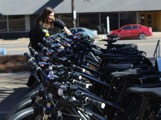 Cpl. Angie Willhite said she prefers bike patrol to