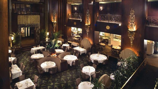 3. Orchids   As glamorous as you can get in this city -- or many other cities.   It's a peak dining experience: the creative food, the grand French Art Deco atmosphere and the fine service all combine for a knock-out evening.   For the cost of two or three far more more mundane dinners you can splurge here and it will be worth it.   35 W. Fifth St., Downtown, 513-421-9100, www.orchidsatpalmcourt.com