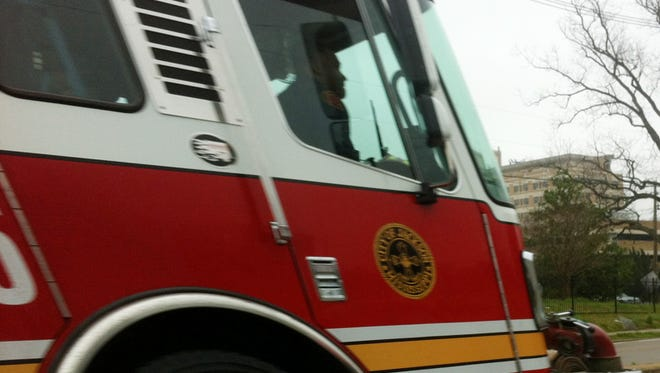 Five family members escaped a house fire in Jackson Wednesday night.