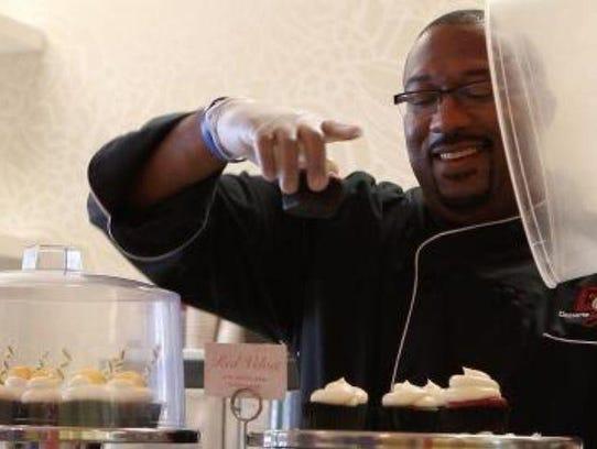 Dana Herbert, owner of Desserts by Dana in Newark,