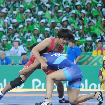 Guam wrestlers fall short in bronze medal matches