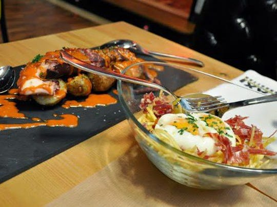 Tapas, or small plates, are a staple of cuisine in