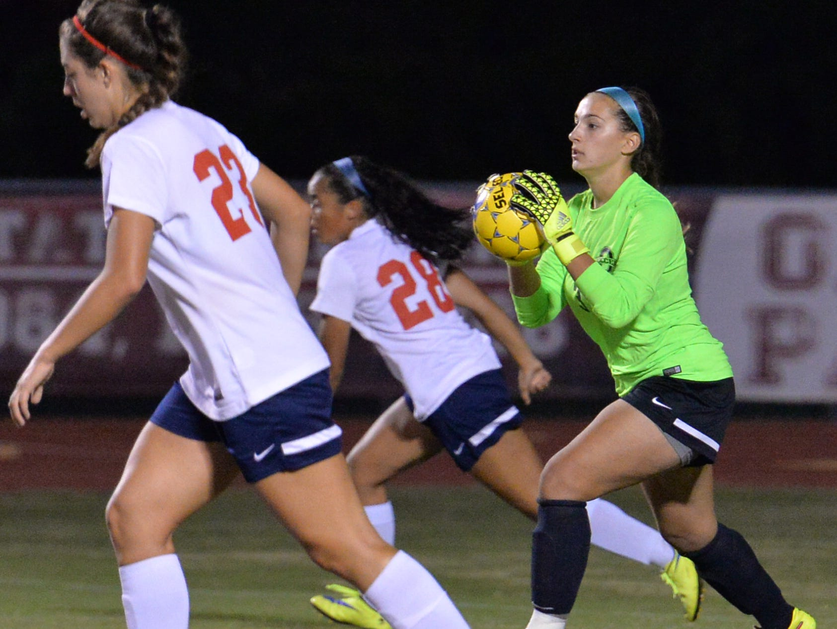 Oakland's Emma Grace Goldman has allowed just one goal in District 7-AAA play this season.