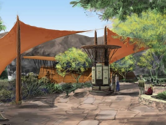 Desert Discovery Center conceptual rendering