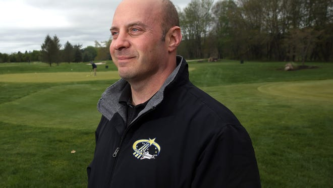 Former NASA Astronaut Garrett Reisman attends the 14th Anniversary Association of the United States Golf Outing in honor of his late father, Robert Reisman, a former Picatinny Arsenal employee. May 5, 2016 Rockaway, N.J.