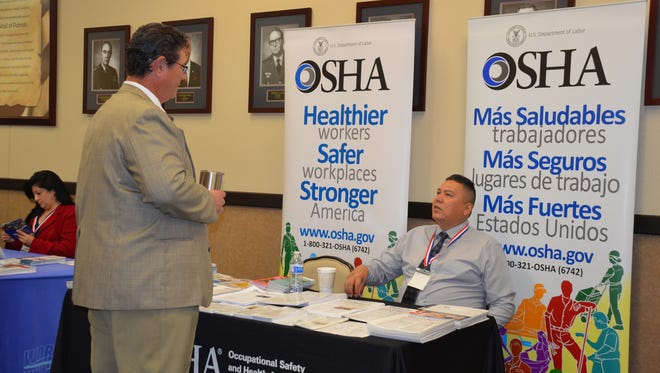 OSHA was among last year's participants in the Procurement and Contracting Symposium.