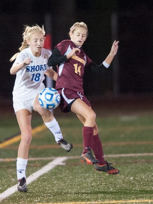 Varsity Girls Soccer: Haddon Heights vs Shore