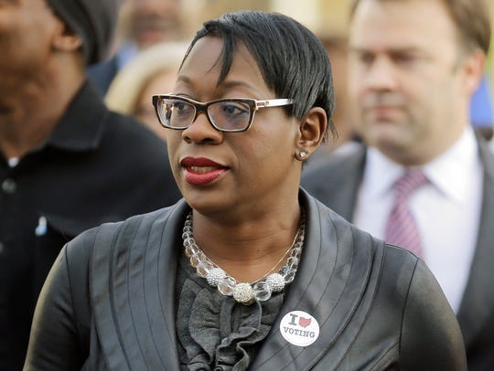 Nina Turner, president of Our Revolution.