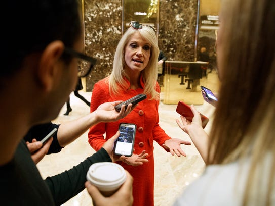 Kellyanne Conway of Alpine, campaign manager for President