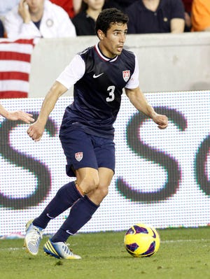 Tony Beltran has two caps for the U.S. national team.