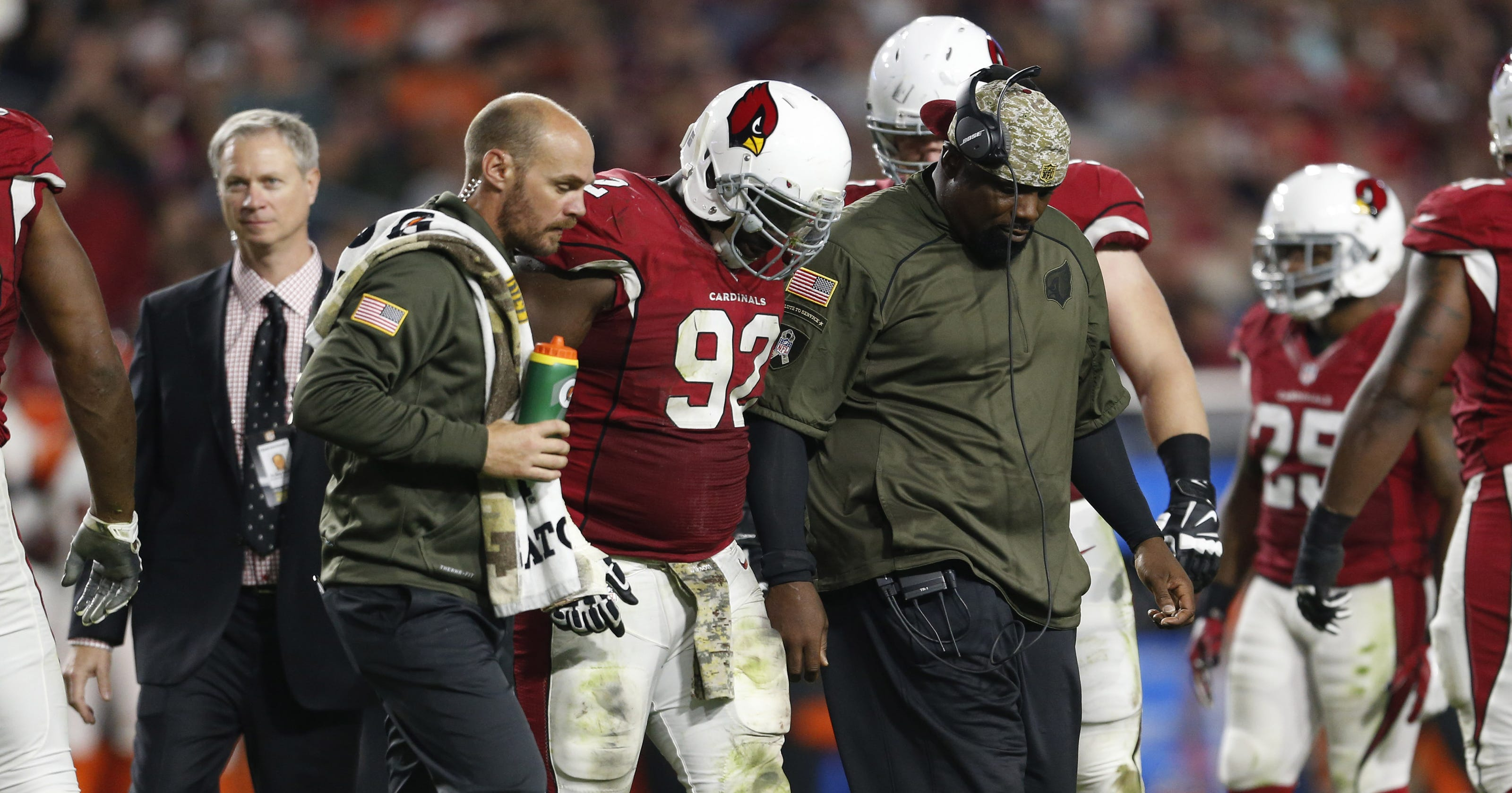 d3abd70bb64 Arizona Cardinals hope to get injured players back against Philadelphia  Eagles