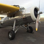 A fully restored 1933 Lockheed Vega, similar to ones flown by Amelia Earhart and Wiley Post, has landed at Falcon Field in Mesa.