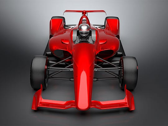 """IndyCar released the """"NEXT"""" concept images of the car"""