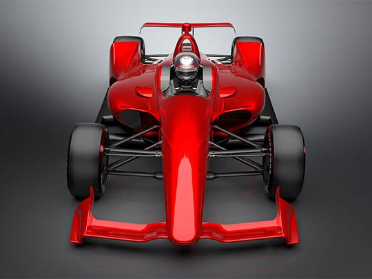 "IndyCar released the ""NEXT"" concept images of the car"