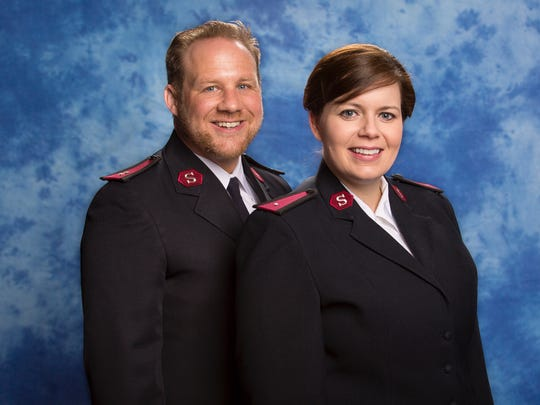 Capt. Patrick Gesner and his wife, Laura, assumed their roles as Corps Officers of the Salvation Army in Corpus Christi in June, two months before Hurricane Harvey ravaged the Coastal Bend.