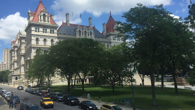The New York State Capitol on Wednesday, June 29, 2016