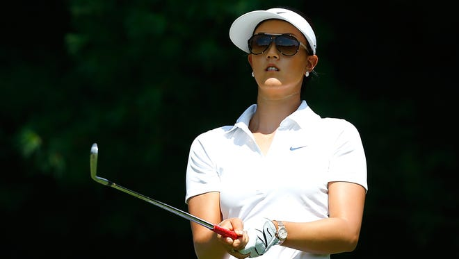 Michelle Wie withdrew from this week's Meijer LPGA Classic due to her finger injury.