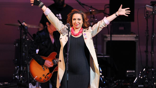 Comic actress Maya Rudolph at a Prince  tribute concert in New York in March.