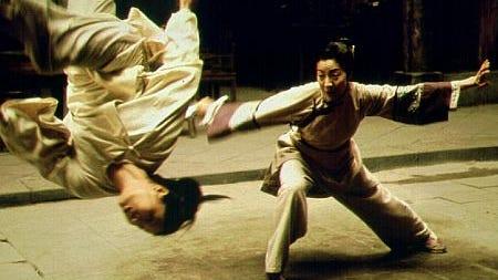 Michelle Yeoh in Crouching Tiger, Hidden Dragon (2000)