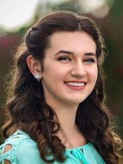 Jocelyn Elgin, the daughter of Jane and Brian Elgin of Evansville, plans to study engineering at Purdue University.