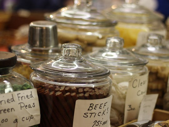An array of homemade delectable delights offered the chance to feast like our forefathers at  the 26th annual Living History Trade Fair.