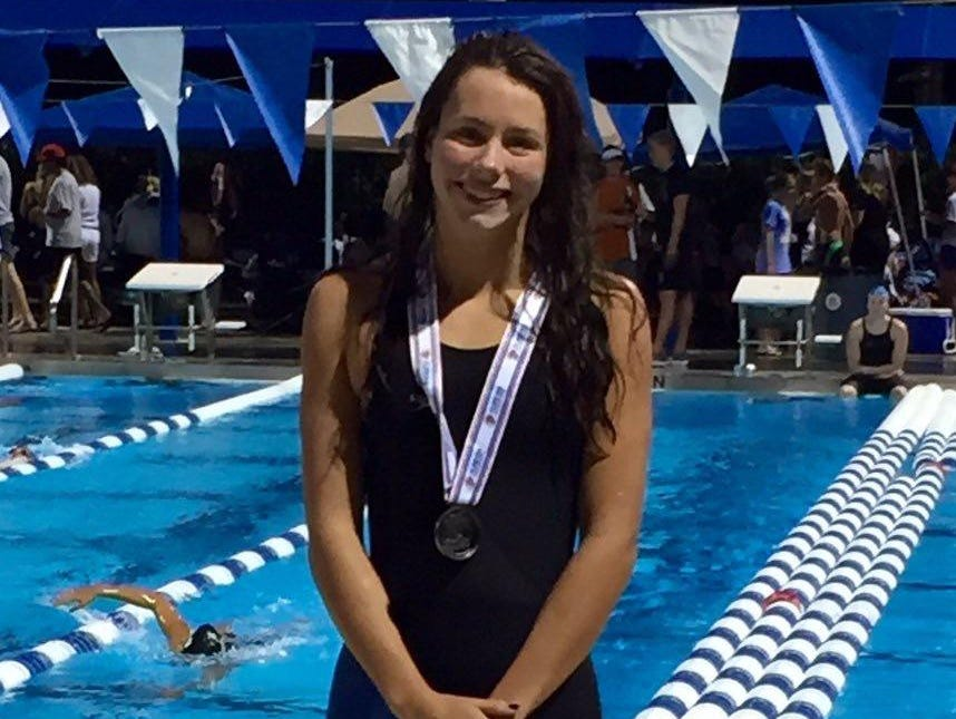 Chiles sophomore Stephanie Holmes was 3rd in the 500 free and fourth in the 200 free to post 31 points for the Timberwolves' seventh place state finish.