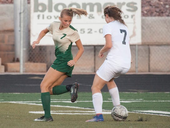 Snow Canyon took down Pine View 7-0 and Desert Hills
