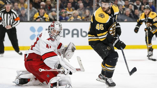 The Bruins and Hurricanes must wait until Wednesday morning to play Game 1 of their Stanley Cup playoff series.