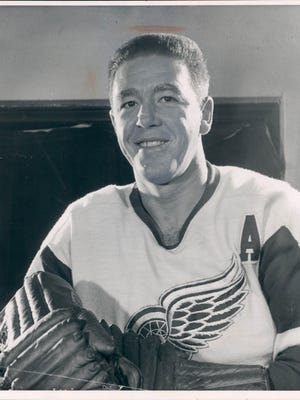 Marcel Pronovost of the Detroit Red Wings
