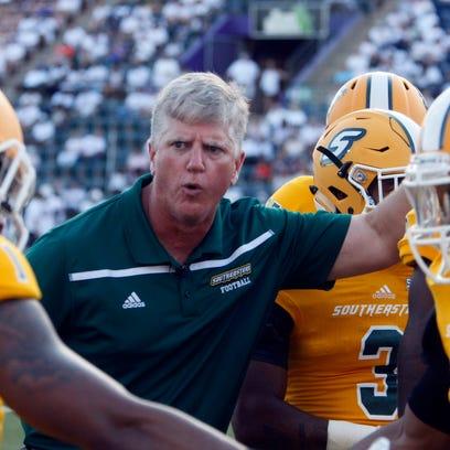 Southeastern Louisiana head coach Ron Roberts fires
