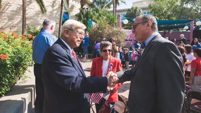 Dr. Tony Diaz, Maria A. Diaz and Michael Rendon