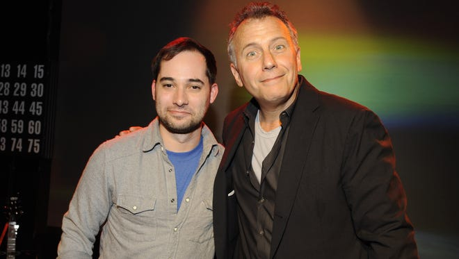Harris Wittels and Paul Reiser in March 2012 in West Hollywood.