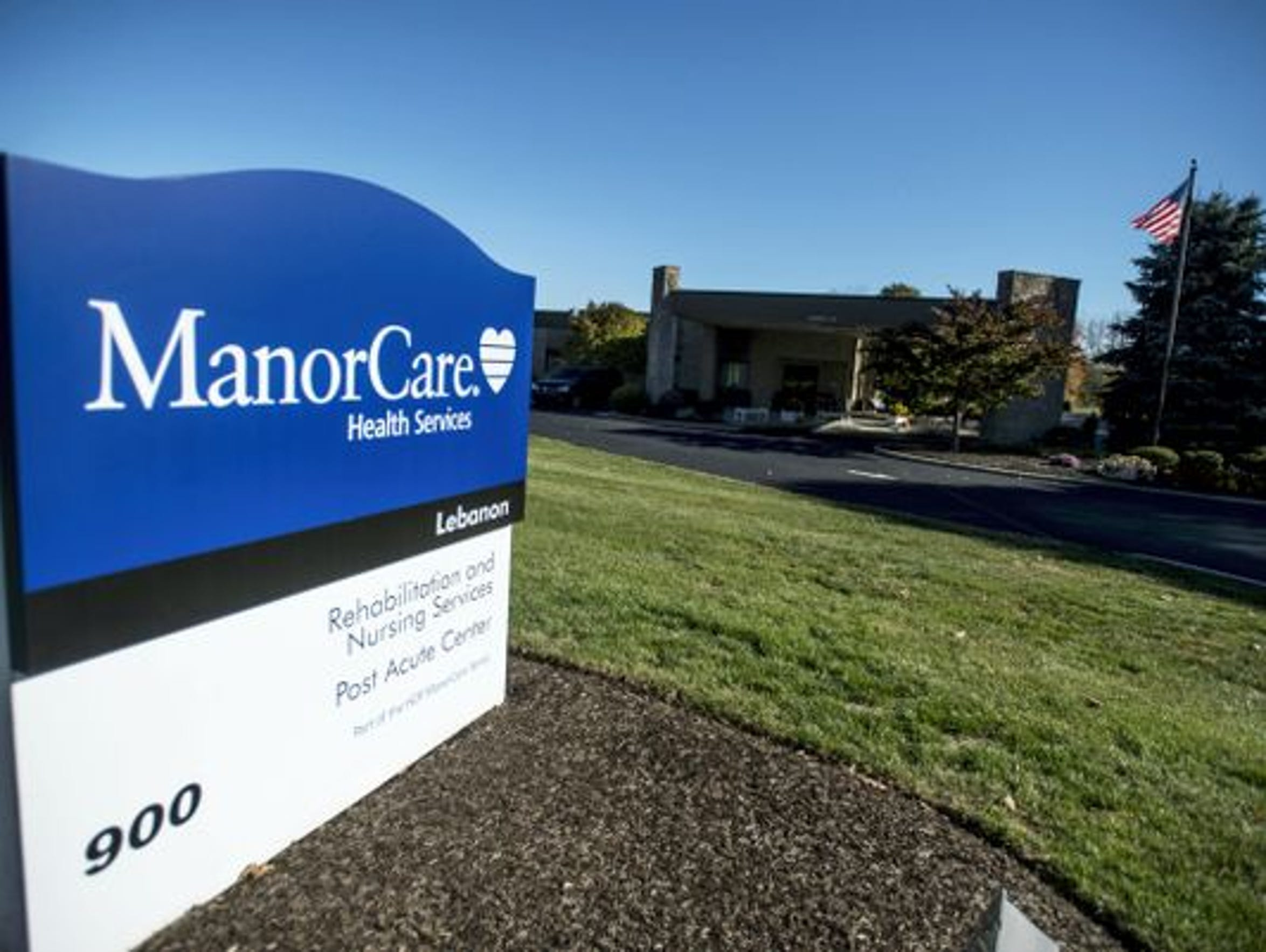 ManorCare Health Services - Lebanon had two falls involving