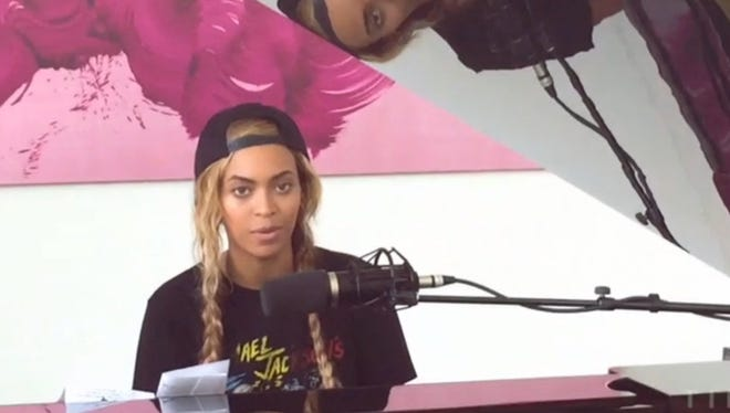 Beyonce performing new song Die With You.