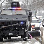 Police armada surprises boy battling cancer