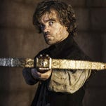 Tyrion Lannister, portrayed by Peter Dinklage, in a scene from last season of Game of Thrones.