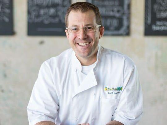 Chef Scott Holmes.